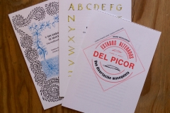 Los tres cuadernillos (castellano)