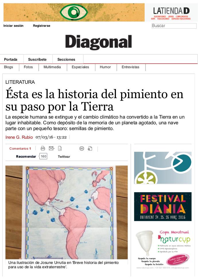 DIAGONAL_Ésta es la historia del pimiento en su paso por la Tierra | Periódico Diagonal